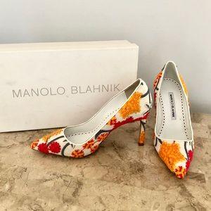 Authentic Manolo blahnik designer heels